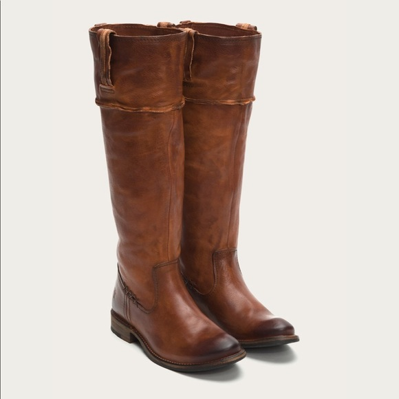 Frye | Shirley Artisan Tall Leather Riding Boots